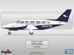 Piper Chieftain N135TW by Scheme Designers